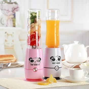 bearcat炸果汁榨汁机迷你小型家用鲜榨水果汁机便携式学生宿舍电动豆浆机JK-512