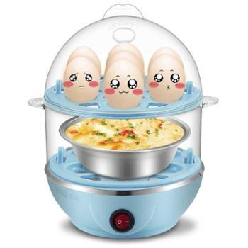 优益Y-ZDQ1双层多功能家用煮蛋器不锈钢蒸蛋器迷你煮蛋机自动断电
