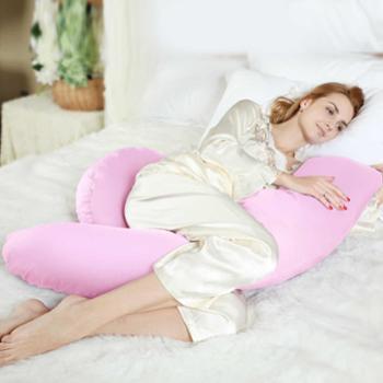 丽美轩孕妇枕孕妇枕头护腰枕侧睡枕抱枕侧睡侧卧多功能睡枕靠枕J