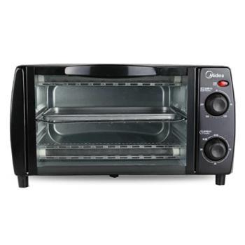 Midea/美的T1-L101B多功能电烤箱家用烘焙小烤箱控温迷你蛋糕