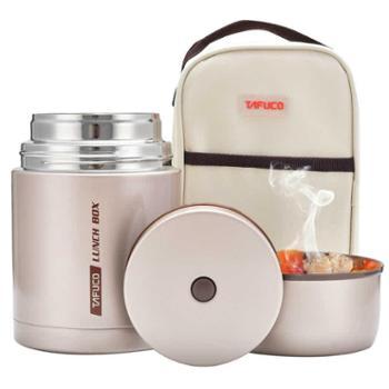 日本泰福高焖烧杯焖烧壶 不锈钢保温壶 保温盒饭桶闷烧杯闷烧罐