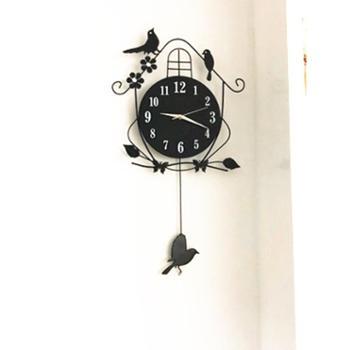 久久达 客厅创意挂钟