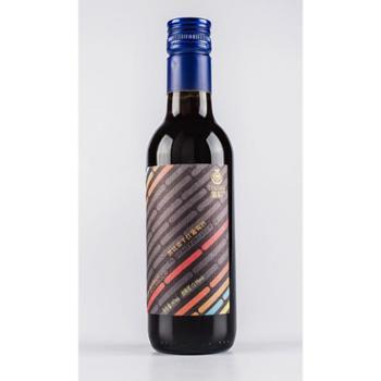 紫轩黑比诺干红葡萄酒187ml单支装红酒