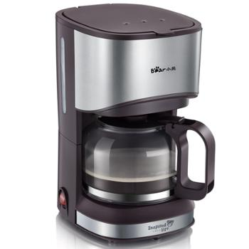 Bear/小熊 KFJ-A07V1美式咖啡机家用全自动滴漏式迷你咖啡机