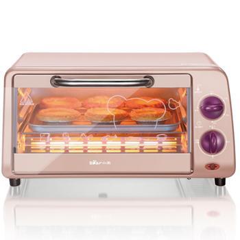 Bear/小熊 DKX-A09A1电烤箱家用烘焙迷你烤箱10L小烤箱多功能烘烤箱