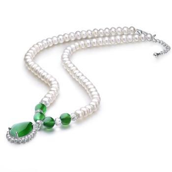 【送妈妈送长辈】仙蒂瑞拉SANDYRILLA典雅高贵大气女士淡水珍珠项链附证书XDRL2275