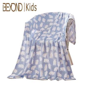 博洋宝贝 BYTZ602 艾尔兰柔肤多用毯 毛毯 盖毯 100cm×150cm