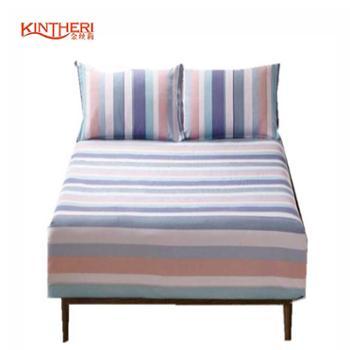 金丝莉 老粗布三件套 粗布套件 床单枕套三件套 纯棉