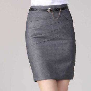 浪漫雅莎新款半身裙包臀一步裙西装裙工装裙大码职业短裙