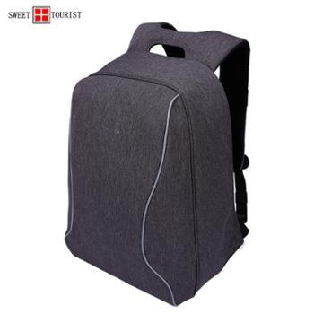 瑞士军刀男士背包双肩包商务旅行出差休闲电脑背包男书包3226