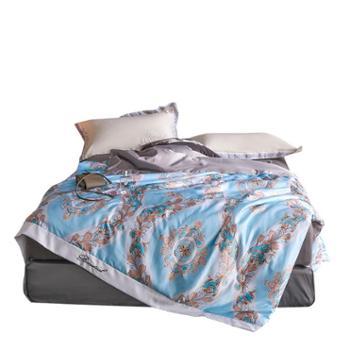 伊伊爱60水洗数码印花夏被空调被床上用品