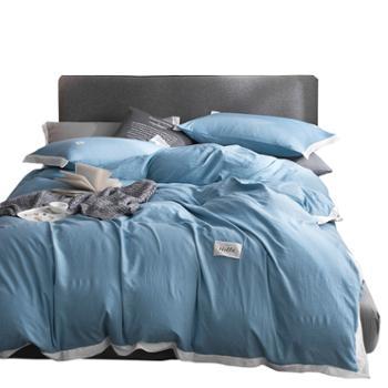 伊伊爱水洗棉臻棉系列四件套床品套件床上用品