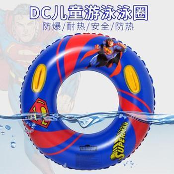 梵迪拉游泳圈成人儿童充气腋下圈超人泳圈男女加厚把手加大救生圈