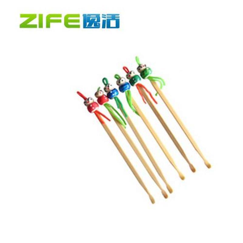 可爱中国娃娃竹制耳勺 居家日用其他防护用品