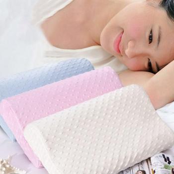 羽芯家纺 慢回弹压泡太空记忆枕 颈椎保健枕