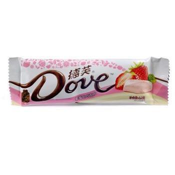 凤展超市德芙草莓白巧克力42g*3条