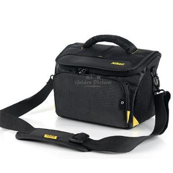 尼康原装单反相机包D90 D7100 D3200D5300 休闲单肩斜跨帆布摄影包