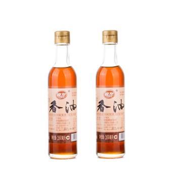 宴友小磨芝麻香油两瓶装260ml*2