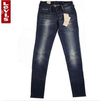levi's李维斯女士高端复古修身小脚牛仔裤49817-0007