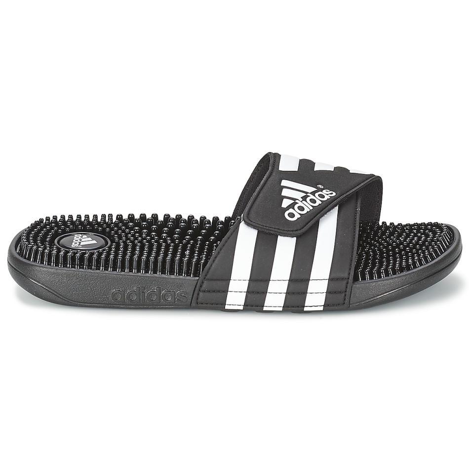 adidas 阿迪达斯男鞋2018夏季三条纹防滑沙滩凉拖鞋 78260