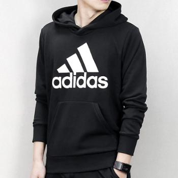 Adidas阿迪达斯男卫衣NEO防风连帽运动套头衫CW3861SH