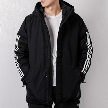 Adidas/阿迪达斯运动休闲保暖男装连帽棉服-CY8624