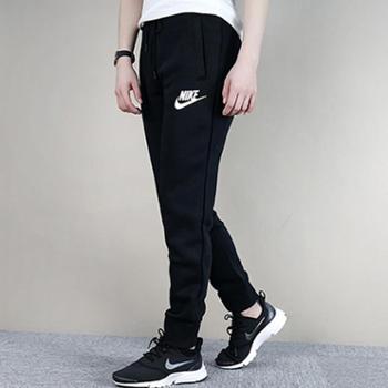 Nike耐克女裤针织保暖运动休闲针织小脚长裤894851-010SH