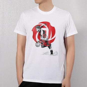 Adidas阿迪达斯短袖男装透气罗斯运动T恤DU6296