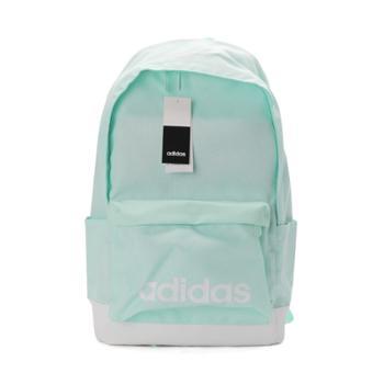 Adidas阿迪达斯NEO男女包2019夏季新款大容量书包绿色背包EC4704
