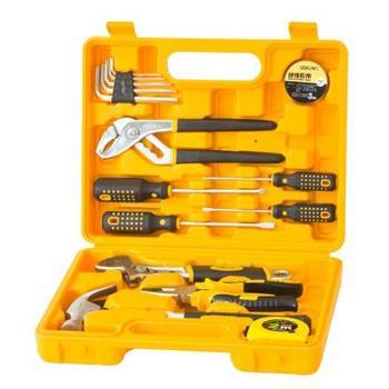 得力(deli)3701 多功能组合工具箱/工具套装 16件套/1盒