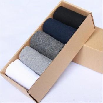 男袜子纯棉中筒防臭四季全棉袜子束腰男袜纯棉运动男袜包邮