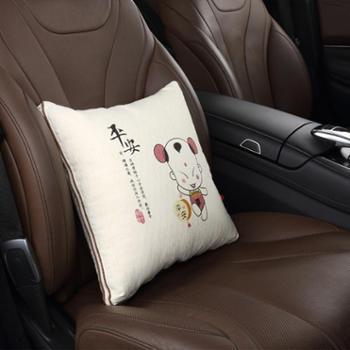汽车用品抱枕被车内靠垫车抱枕被子靠枕被子两用车用抱枕被空调被