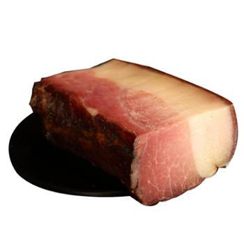 王家五后腿腊肉肥瘦分明500g