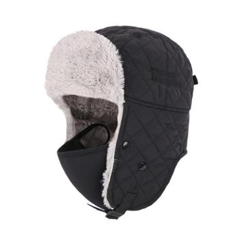 埃尔蒙特ALPINTMOUNTAIN男女户外加厚保暖冬季雷锋帽