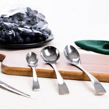 【新款包邮】不锈钢刀叉勺三件套公爵系列 牛排刀套装西餐具加厚 送甜品勺
