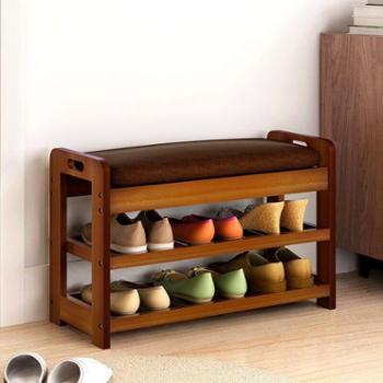 (生活用品收纳鞋柜)换鞋凳鞋柜简约现代穿鞋凳创意沙发凳多功能矮凳可坐储物凳