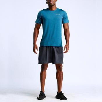 夏季新款运动装男套装运动休闲健身套装男速干运动短裤户外跑步