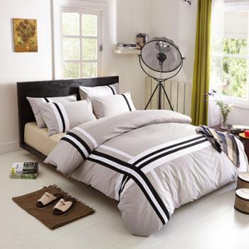 全棉四件套活性时尚休闲床单式床上用品全棉四件套