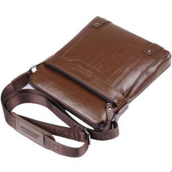 男士单肩包男士斜挎包男士商务包休闲包公文包皮包男包背包竖款包