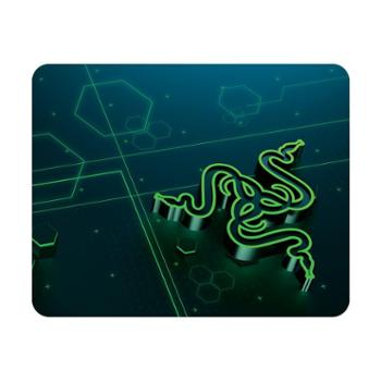 Razer雷蛇 270x215mm重装甲虫电竞游戏鼠标垫加长速度控制包边大小布垫吃鸡