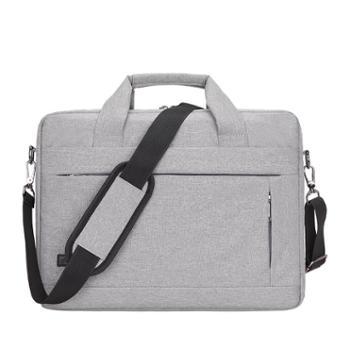 联想苹果华硕戴尔小米华为13.3寸14寸15.6寸男女单肩手提笔记本电脑包防水防震电脑包公文包文件袋