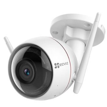 萤石1080P2.8mm摄像头防水30米夜视智能无线高清网络wifi远程监控摄像头枪机