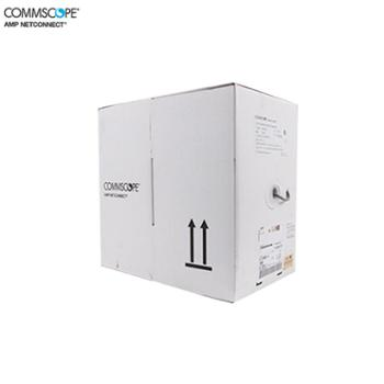 安普网联 原装超五类网线非屏蔽网线箱线 白箱(0.51±0.02mm) 外径5.1mm 305米