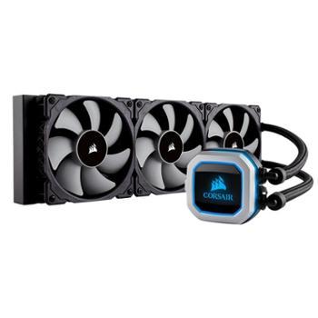 海盗船PRO RGB冷头 一体式CPU水冷散热器 360MM冷排 三磁悬浮风扇