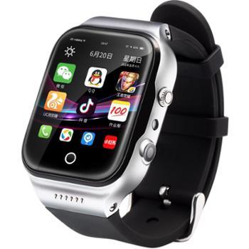 智能手表手机wifi多功能安卓插卡防水成人男孩女学生儿童电话手表上网GPS定位微信视频通话高中生初中小学生 【超快四核+16G版+全防水】