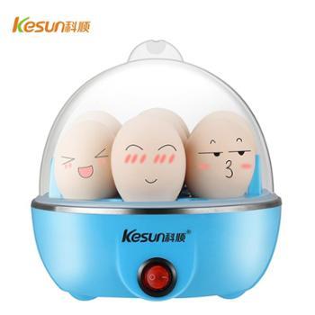 科顺(KESUN)ZD0001 煮蛋器蒸蛋/热菜 多功能家用蒸蛋器带小量杯 可蒸7个蛋