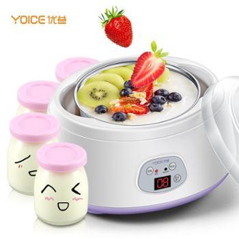 优益(Yoice)酸奶机 米酒机酸奶,米酒,纳豆 家用全自动不锈钢内胆