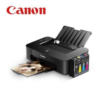 佳能TS208彩色喷墨照片打印机家用学生办公迷你小型A4便携式连供6寸无边距照片打印机黑白彩色试卷文档宿舍用