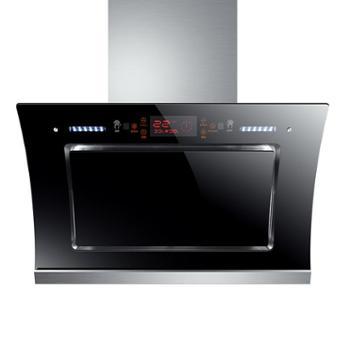 双电机自动清洗抽油烟机壁挂式抽烟机家用侧吸式厨房吸油烟机