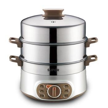 苏泊尔蒸锅家用多功能电蒸锅大容量自动断电蒸笼蒸菜多层蒸笼